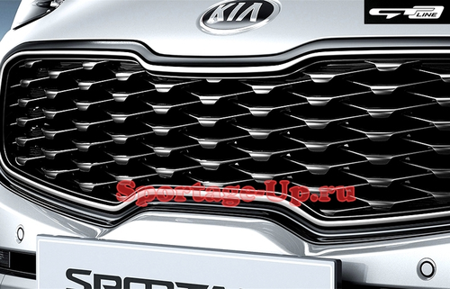 Grill Sportage4 GT-Line