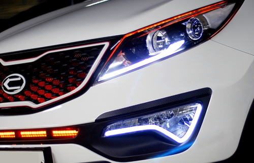 LED-fangs Sportage3