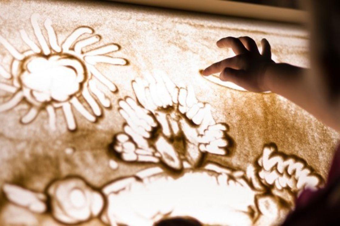 Днем рождения, картинки рисование песком